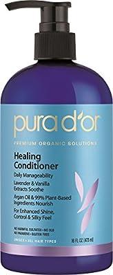 Pura D'or Healing Conditioner -- 16 fl oz