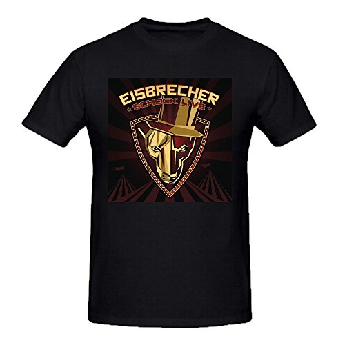 Eisbrecher Schock Live Tall Tee Shirts For Uomo