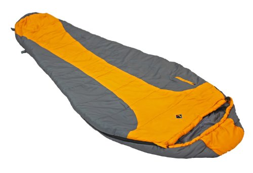 Ledge Sports FeatherLite +20 F Degree Ultra Light Design, Ultra Compact Sleeping Bag (84 X 32 X 20, Orange)