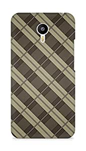 Amez designer printed 3d premium high quality back case cover for Meizu M2 Note (Smooth Pattern)