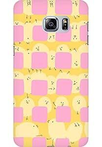 AMEZ designer printed 3d premium high quality back case cover for Samsung Galaxy S6 Edge Plus (cute)