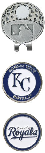 MLB Kansas City Royals 2 MKR Cap Clip, Silver at Amazon.com
