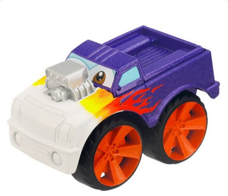 Tonka CHUCK & Friends Twist Trax Diecast FLEX [Purple Muscle Truck] - 1