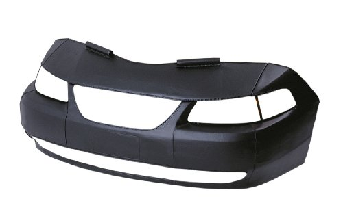 LeBra Front End Cover Honda Civic - Vinyl, Black (2000 Front End Honda Civic compare prices)