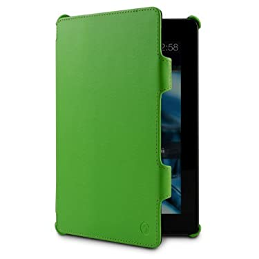 "MarBlue Slim Hybrid Standing Case for Kindle Fire HDX 7"", Lime"
