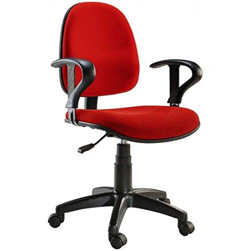 Sedia operativa per ufficio Easy Colore Rosso