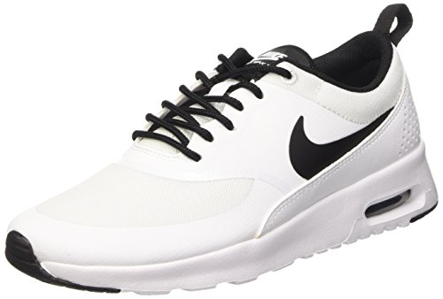 NikeWMNS NIKE AIR MAX THEA - Zapatillas Mujer, Blanco - Weiß (102 WHITE/BLACK-WHITE), EU 38.5 (US 7.5)