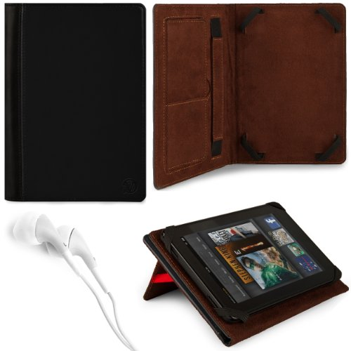 Foul VG Mary Edition Faux Leather Take over Case w/ Pull Out Kickstand for Acer / Asus / Lenovo/ Dell / Kocaso / iView / Supersonic / Hyundai / Samsung / Archos / Arnova / Coby / Velocity / Viewsonic / Motorola / Toshiba / Le Pan / Skytex / Fujitsu / Sony