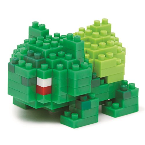 nanoblocks Nbpm003 Nb - Bulbasaur - Pokemon Building Kit - 1