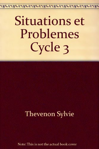 Situations et problèmes, cycle 3 (The Sylvie Cycle compare prices)