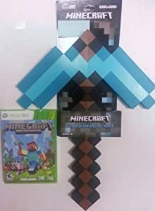 how to get a pickaxe in minecraft xbox 360