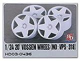 Hobby Design 1/24 Vossen 20インチ ホイール (No:VPS-318) HD03-0436