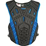 Fly Racing Undercover II Clip Entry Adult Roost Guard Off-Road/Dirt Bike Motorcycle Body Armor - Black / One Size
