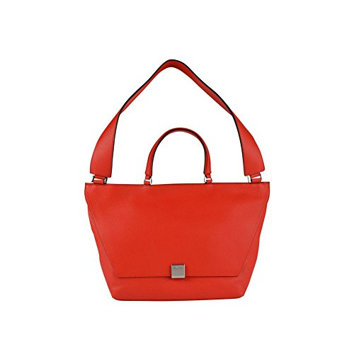 Calvin Klein Kate Medium Shoulder Bag in Bold Red
