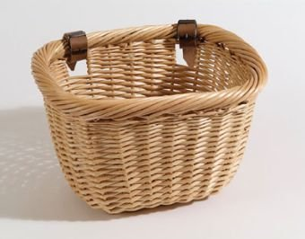 Nantucket Bike Baskets Brant Point Rectangular Lt. Brown