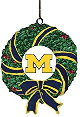 Wreath Ornament-Michigan