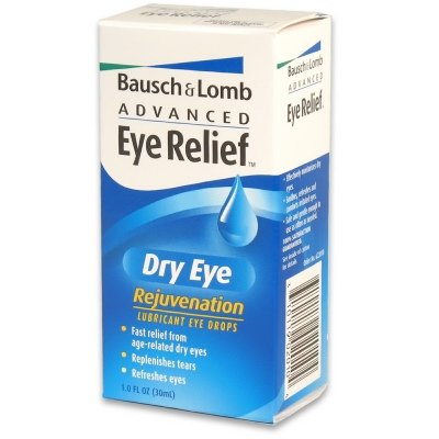 Advanced Eye Relief Lubricant Eye Drops, Dry Eye, Rejuvenation 1 fl oz (30 ml)