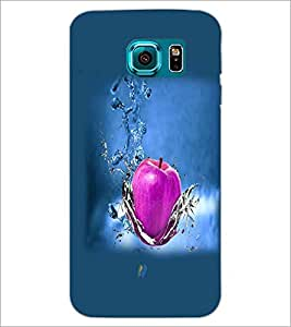 PrintDhaba Apple D-4284 Back Case Cover for SAMSUNG GALAXY S6 (Multi-Coloured)