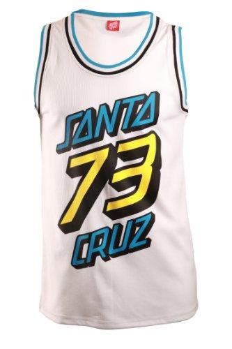 Santa Cruz Xl Og Basketball Vest - White - Med
