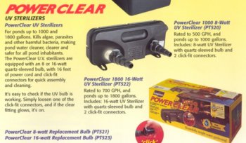 Power Clear UV Stabilizer – Part #: PT520