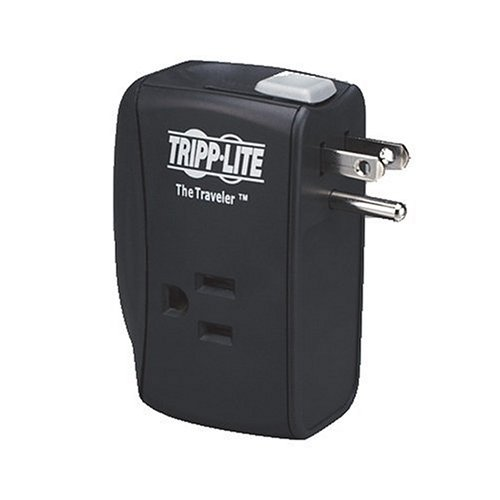 Tripp Lite TRAVELER Notebook Surge Protector Wallmount Direct Plug In 2 Outlet RJ11B00006B84O