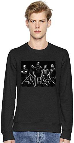 Anthrax Members Unisex Felpa Unisex Sweatshirt Men Women Stylish Fashion Fit Custom Apparel By Genuine Fan Merchandise XX-Large