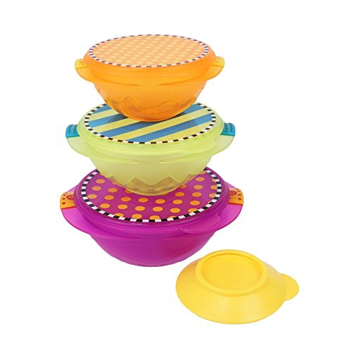 Sassy On-the-Go Snack Bowl Set - Multicolor (Sassy Bowl Set compare prices)
