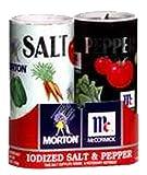Mortons Salt, Mccormick Pepper Pack, 5.25-ounce Shakers