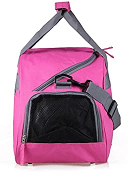 MIER 19inch Half Dome Travel Duffel Bag Women Sports Gym Bag with Shoe Compartment 2