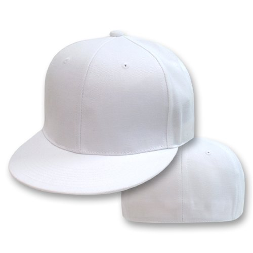 Plain Fitted Flat Bill Hat - White - Buy Plain Fitted Flat Bill Hat - White - Purchase Plain Fitted Flat Bill Hat - White (Gravity Fitted Hats, Gravity Fitted Hats Hats, Womens Gravity Fitted Hats Hats, Apparel, Departments, Accessories, Women's Accessories, Hats)