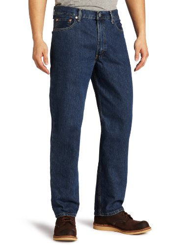 Levi's Men's 550 Relaxed Fit Jean - Big & Tall, Dark Stonewash, 50x30
