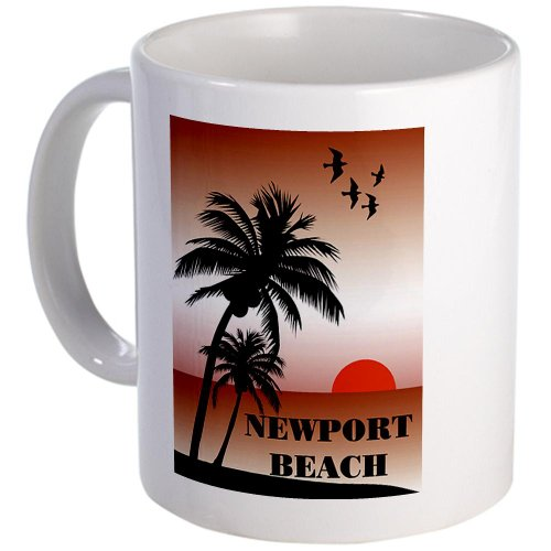 Cafepress Newport Beach Sunset Mug - Standard