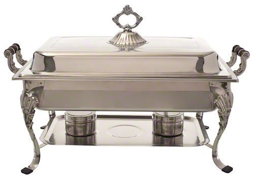 Update International (RC-20) 8 Qt Rectangular Royal Chafer