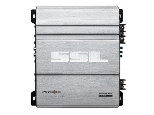 Ssl Psy1000.2 Psyclone 1000-Watts Full Range Class A/B 2 Channel 2-8 Ohm Stable Amplifier With Remote Subwoofer Level Control