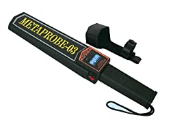 Digitals hand held metal detector Metaprobe-03 with MADE IN INDIA charger (For originality & best after-sales support, Buy only from Digitals)