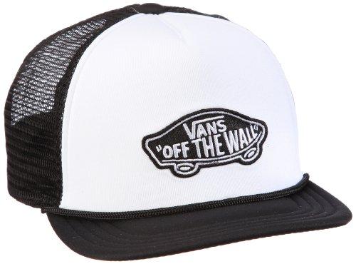 Vans - Classic Patch Trucker Boys, Cappello Bambino, Bianco (White/Black), Taglia unica