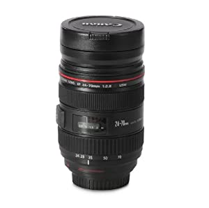 Canon 24-70mm f/2.8L 12.5-Ounce 1:1 DSLR Camera Lens Coffee Tea Mug