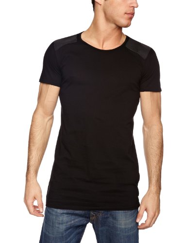 Popissue Stylish Bill Men's T-Shirt Black Small