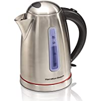Hamilton Beach 40988 1.7 L Electric Kettle (Stainless Steel)