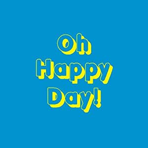 Big Pasty Productions Vibrant Oh Happy Day Greeting Card