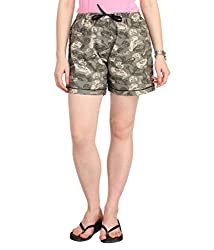 Lenora Women's Cotton Boxers (LN3015CP_Multi_Medium)