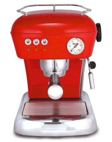 Ascaso DR.114 Dream 16-Bar-Pump Espresso Machine, Love Red (Ascaso Dream compare prices)