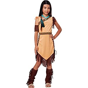 California Costume Collections CC00426_M Native American Beauty Costume For Kids Medium