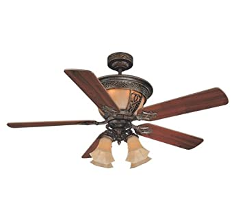"Savoy House The Artesno New Tortoise Shell 52"" Indoor Ceiling Fan"