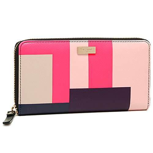 ce463007acfb ケイトスペード 2016年春夏新作 長財布 KATE SPADE WLRU2261 BRIGHTWATER DRIVE COLORBLOCK PARTY