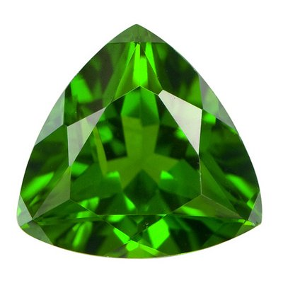 1.15 Cts of 7 mm AA Trillion Chrome Diopside