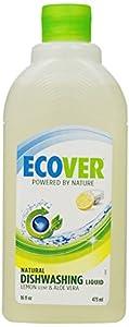 Ecover Dishwashing Liquid, Lemon, 16-Ounce Bottle (Pack of 12)