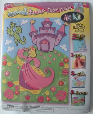 Creative Hands smART Foam 3-D Art Kit: Fairytale