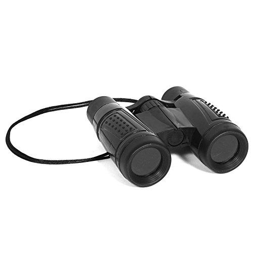 Toy Plastic Black Binoculars