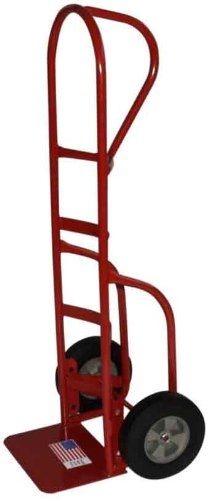 Milwaukee Hand Trucks 33006 Heavy Duty Flow Back Handle Truck With Stair Climbers And 10-Inch Puncture Proof Tires With Steel Hub front-639321